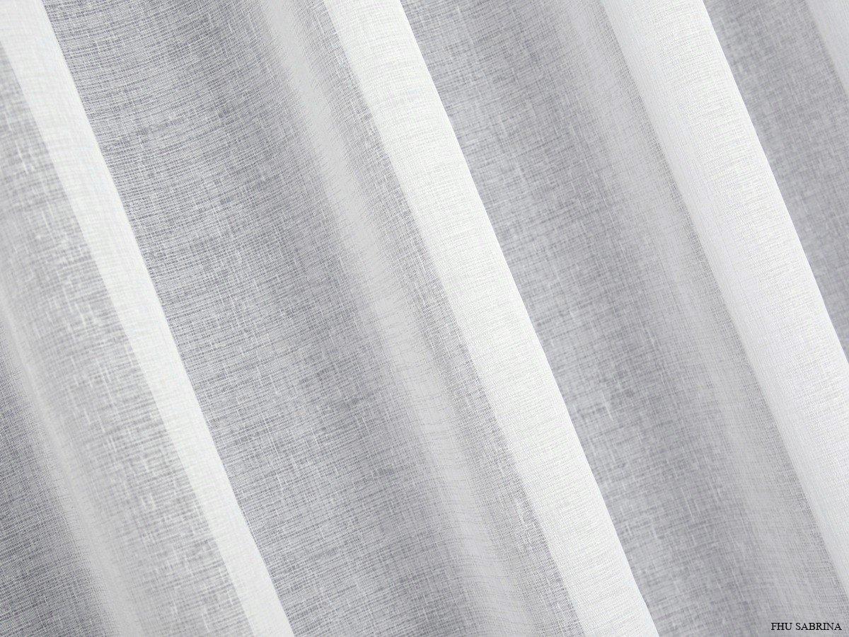 Firany Z Etaminy Etamina Gładka Biel 300