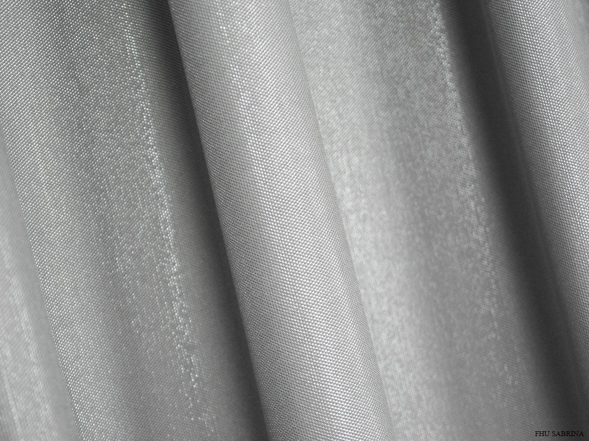 Ekskluzywne Grube Zasłony W Stylu Glamour Shiny Srebro 290