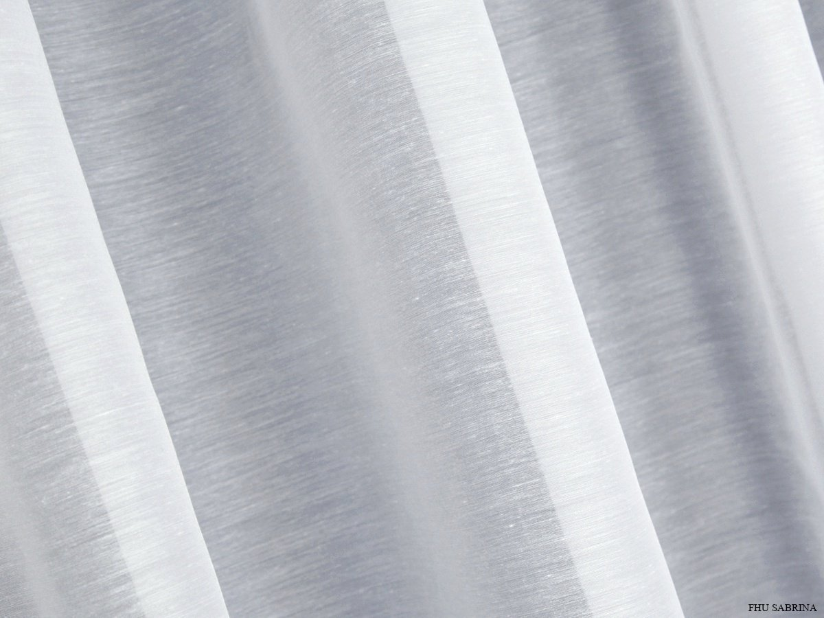Naturalne Firany Z Batystu Batyst Typu Deszczyk Pabra Biel 290